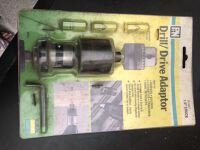 Drill/Drive Adaptor