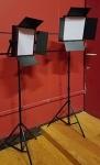 3 of 3 Fovitec LED Light Panel Kit