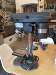 Five speed drill press