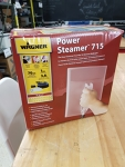 Wall paper steamer