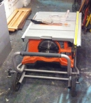Rolling Table Saw