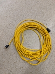 100' (30m) Yellow Extension Cord