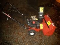 Snow Blower - MTD Yard Machine