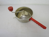 Baby food strainer / spaetzle maker / food mill