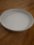 Corningware shallow round dish