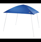 Blue event tent