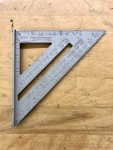 """7"""" Aluminum Rafter Angle Square"""