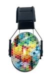 "Noise Reducing ""Colorful Hex"" Earmuffs"