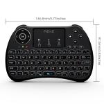 Mini Wireless Keyboard Touchpad Combo