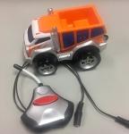 Switch-Adapted Dump Truck