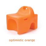 Vidget Chair - Small, Orange