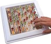 *Textured Marble Fidget Board