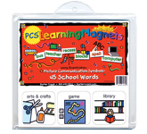 PCS Learning Magnets: School Words