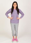 Reversible Long-Sleeve Pullover, Small