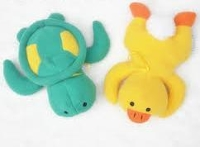 Baby Bottle Huggers - Turtle & Duck