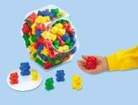 Size & Color Teddy Counters