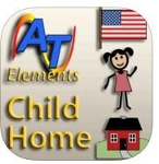 Alexicom Elements Child Home - Female SymbolStix