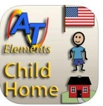 Alexicom Elements Child Home - Male SymbolStix