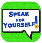 Speak for Yourself app