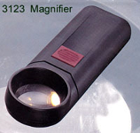 Illuminated 5x Magnifying Glass