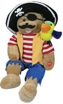 Capt'n Salty & Pepper Switch Adapted Pirate Bear