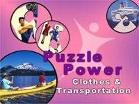 Puzzle Power: Clothes & Transportation