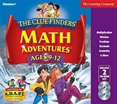 Clue Finders: Math Adventures Ages 9-12