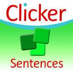 Clicker Sentences writing app