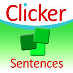 Clicker Sentences app