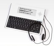 *Forte Portable Keyboard and Writing Tool