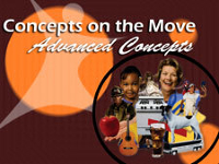 Concepts on the Move: Print, Play & Learn #2 for Basic Concepts