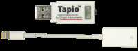 *Tapio with iOS USB to Lightning Adapter