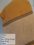Dolcino Kreta Cotton Beige Size 7 Size 7