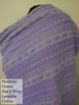 Natibaby Greece Wrap Lavender Purple Size 6