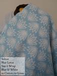 Solnce Wrap Blue Lotus Linen Blend Size 6
