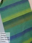 Girasol Wrap Green - Antigua Size 6