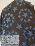 Shiny Star Wovens Wrap Everlong Andromeda (blue/black stars) Tencel/Cotton Blend Size 7