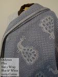 Didymos Wrap Blue and white Pfau 100% cotton Size 5