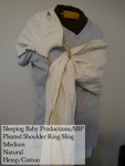 Sleeping Baby Productions/SBP Ring Sling Natural Hemp/Cotton SBP Shoulder Medium