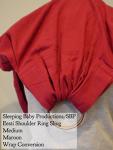 Sleeping Baby Productions/SBP Ring Sling Maroon Eesti shoulder wrap conversion ring sling Centreville Medium