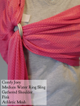 Comfy Joey Water Ring Sling Pink, Gathered Shoulder MD Thursday