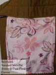 Brown and pink floral Babyhawk Meh Dai VA Tuesday