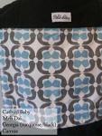 Catbird Baby Meh Dai Georgia (Turquoise/Grey Geometric pattern w/ black straps) VA Weekend