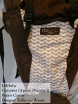 Lillebaby Complete Original Organic Designer Toffee with Waves Centreville