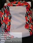 Kindercarry Kinderpack Daisy Zebra/Koolknit Standard/STD
