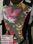 Catbird Baby Pikkolo Pink/Black Floral MD Thursday NEEDS LABEL