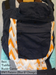 Beco Toddler Blue & Orange (BWI pattern VA Tuesday