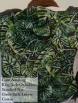 Cute Awaking Green Leaves Batik Onbuhimo