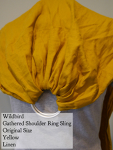 Wildbird Yellow Linen Ring Sling