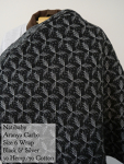 Natibaby Wrap Black and Silver Aranya Carbo Size 6